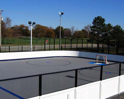 Backyard Inline Hockey Rink Best Synthetic Ice Rink Ideas On - Backyard roller hockey rink
